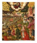 Noah's Ark Fleece Blanket