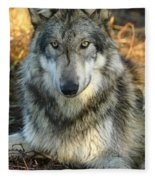 Noble Lupine Fleece Blanket