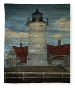 Nobska Lighthouse 2 Fleece Blanket