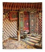 Nomad Yurt Fleece Blanket