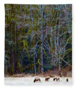 Nooksack Herd Fleece Blanket