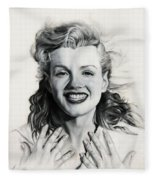Norma Jean Painting Fleece Blanket