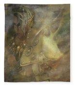 Norse Warrior Fleece Blanket