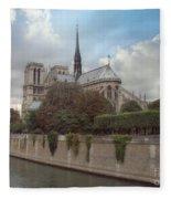 Norte Dame De Paris Fleece Blanket