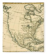 North America Fleece Blanket