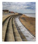 North Beach Heacham Norfolk Fleece Blanket