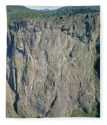 210363-north Chasm View Wall  Fleece Blanket