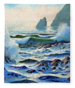 North Coast Surf Fleece Blanket