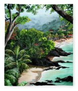 North Coast Tobago Fleece Blanket
