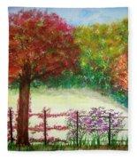 North Fence Fleece Blanket