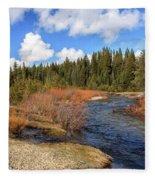 North Fork Deer Creek Fleece Blanket
