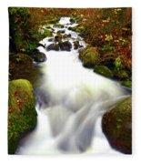 North Fork Of Wallace Fleece Blanket