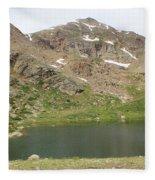 North Halfmoon Lake 2 Fleece Blanket