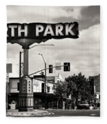 North Park San Diego Fleece Blanket