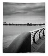 North Pier Blackpool Fleece Blanket