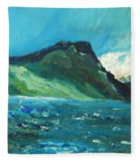 North Sea Fleece Blanket