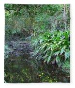 North Shore Forest Glade Fleece Blanket