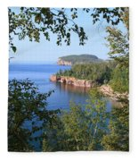 North Shore Lake Superior Fleece Blanket