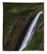 North Table Mountain Falls Fleece Blanket