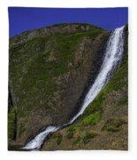 North Table Mountain Spring Falls Fleece Blanket