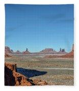 North Window View Fleece Blanket