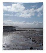 Northam Burrows Beach Fleece Blanket