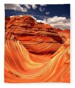 Northern Arizona Paradise Fleece Blanket