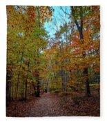Northern Loop Trail Fleece Blanket