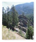 Northern Rockies Missoula  Montana  Fleece Blanket