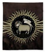 Northleach Wool Church Fleece Blanket