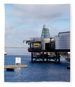 Norwegian Petroleum Museum Fleece Blanket