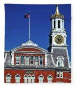 Norwich City Hall Fleece Blanket