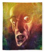 Nosferatu Fleece Blanket