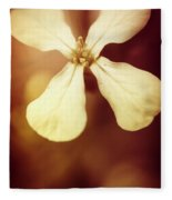 Nostalgic Wildflowers Fleece Blanket