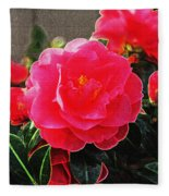 Not A Rose Fleece Blanket