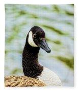 Not Grey Goose Fleece Blanket