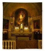 Notre-dame-de-bon-secours Chapel Fleece Blanket
