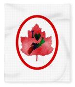 Nova Scotia Proud Fleece Blanket