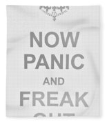 Now Panic 0 Fleece Blanket