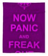 Now Panic 14 Fleece Blanket