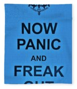 Now Panic 21 Fleece Blanket