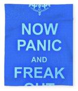 Now Panic 3 Fleece Blanket