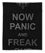 Now Panic 30 Fleece Blanket