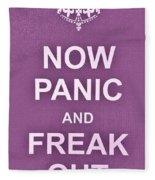 Now Panic 7 Fleece Blanket