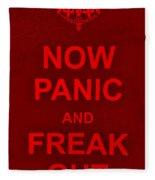 Now Panic 9 Fleece Blanket