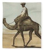 Noyes, Edward , Riding Camel Fleece Blanket