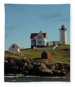 Nubble Light 4 Fleece Blanket