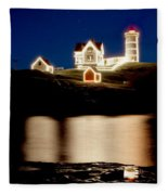 Nubble Stars Fleece Blanket