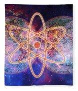 Nuclear World Fleece Blanket
