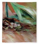 Nude 0221c1 Fleece Blanket